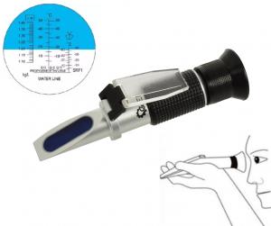 Рефрактометър за антифриз, електролит и течност за чистачки
