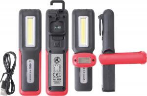 Акумулаторна лампа COB LED с USB BGS