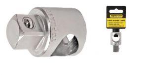 Адаптор за гедоре с отвор за върток 3/8'' Cr-V TMP