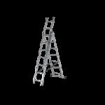 Алуминиева стълба 3x7 три секторна DjodiTrade