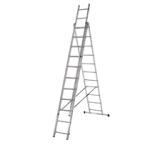 Алуминиева стълба 3x11 три секторна DjodiTrade