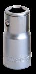 Адаптор за битове 1/4 x1/4 F L23 mm TMP